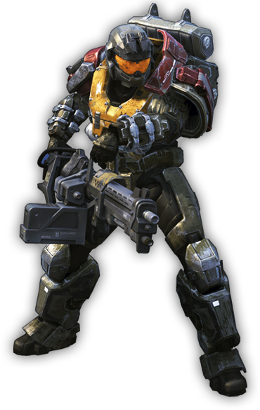 Halo Reach Character Model
