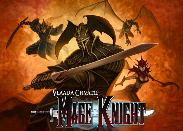 Mage Knight Board Game Cover Art