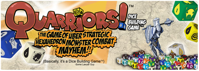 Quarriors! Dice Building Game!