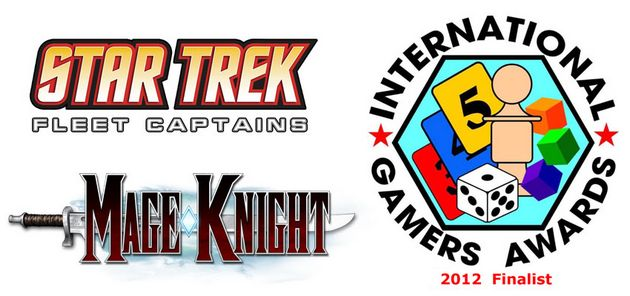 Star Trek Fleet Captains and Make Knight Nominated for the IGA 2012