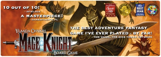 Mage Knight Board Game by WizKids