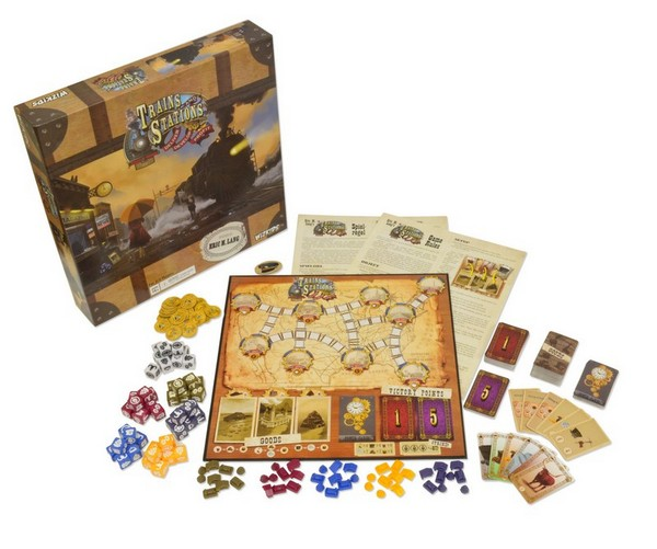 WizKids: Trains and Stations
