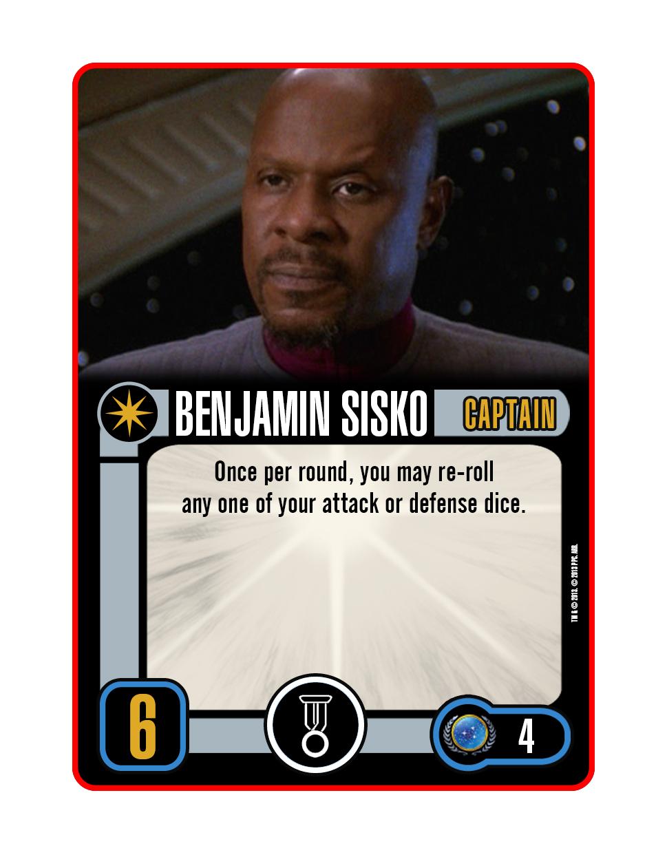 Captain - Benjamin Sisko