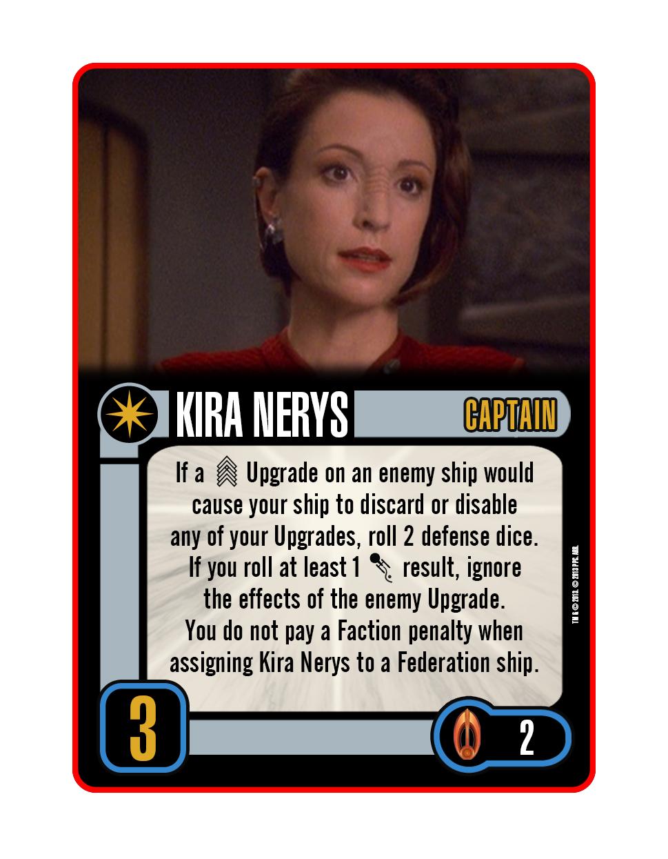 Captain - Kira Nerys