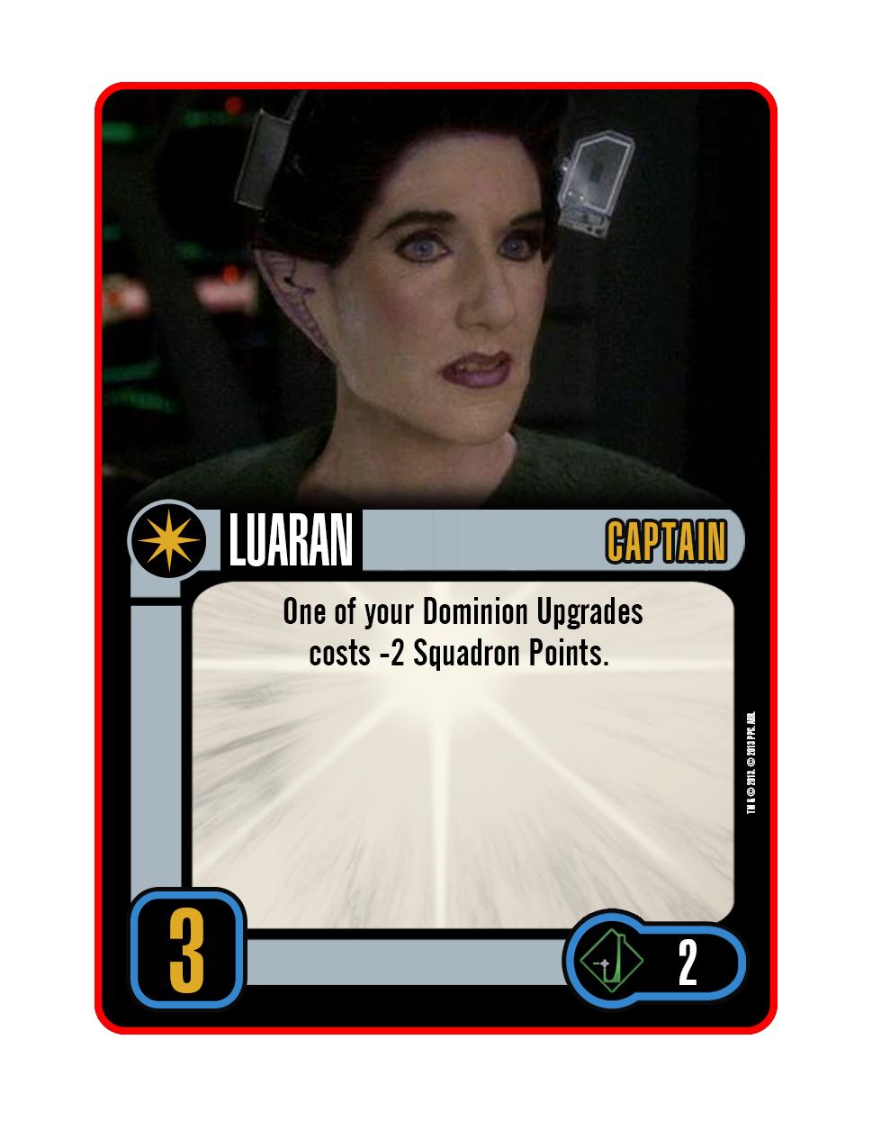 Captain - Luaran