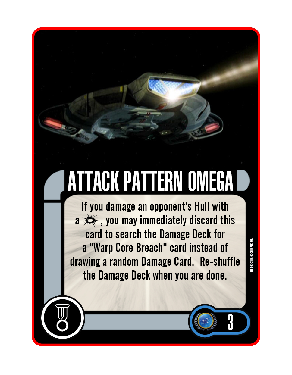Elite Talent - Attack Pattern Omega