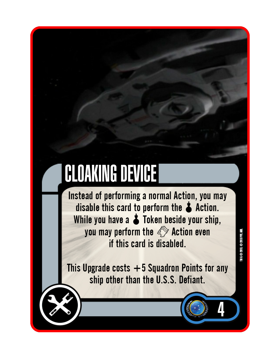 Tech - Cloaking Device