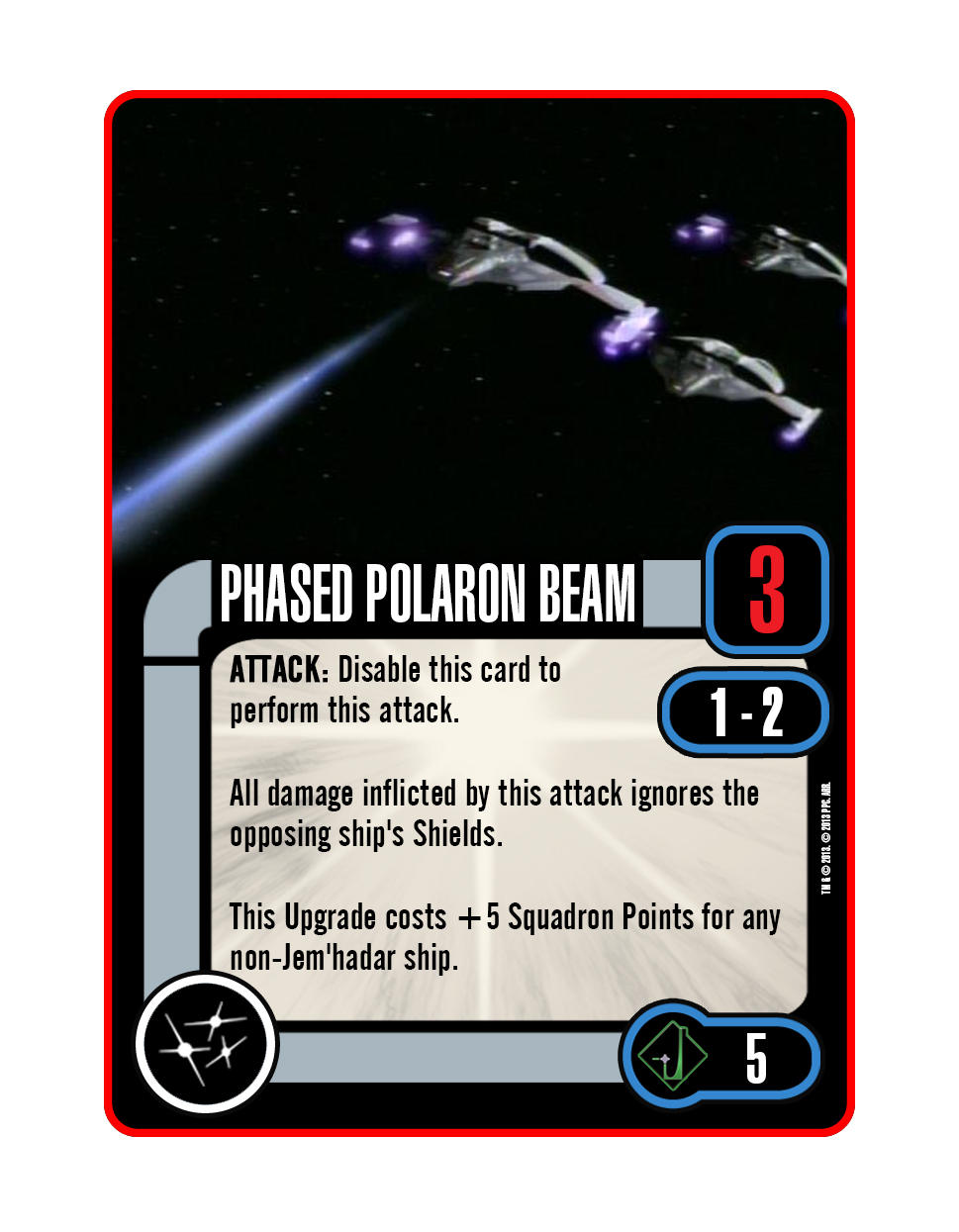 Weapon - Phased Polaron Beam