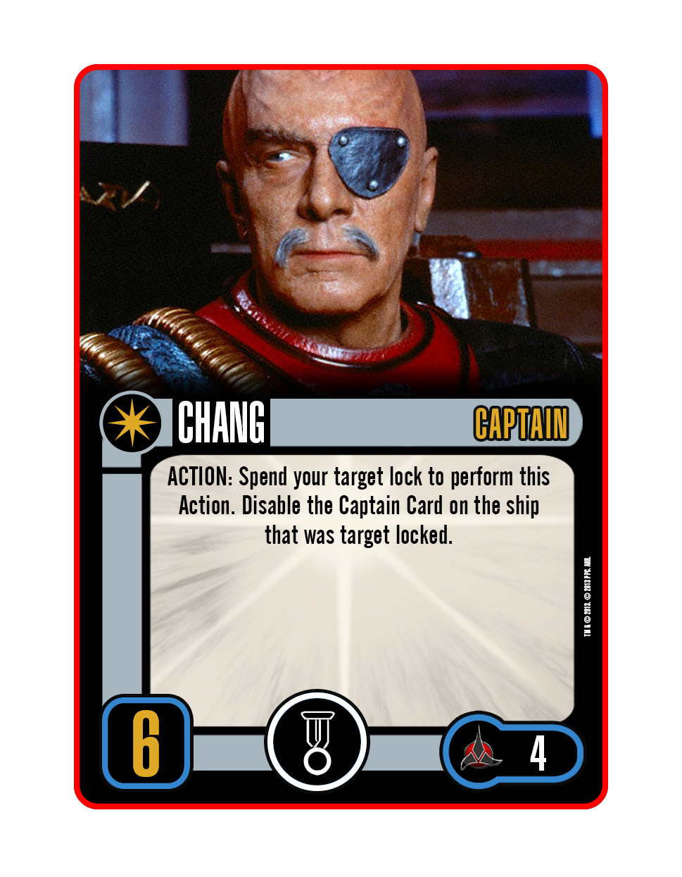 Captain - Chang