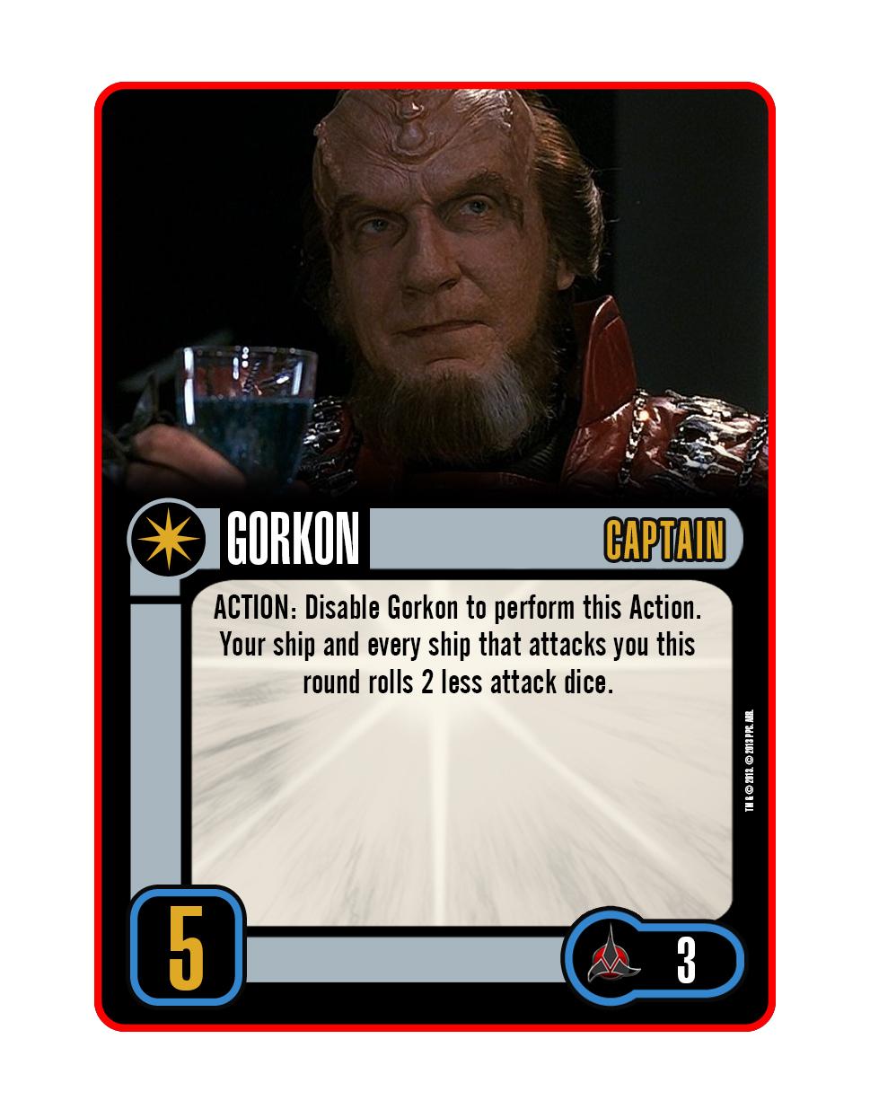 Captain - Gorkon