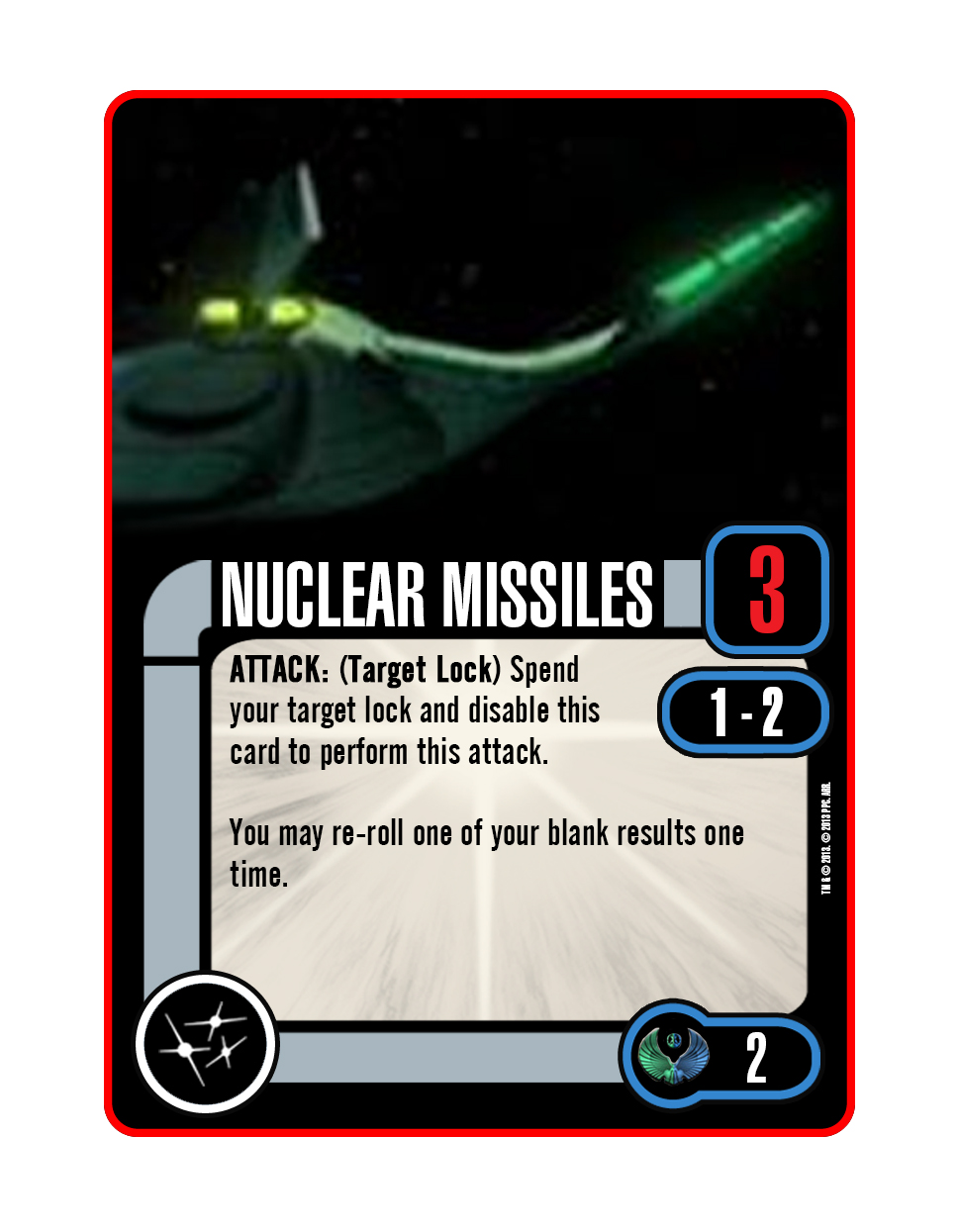 Cards - Weapons - Nuclear Missiles