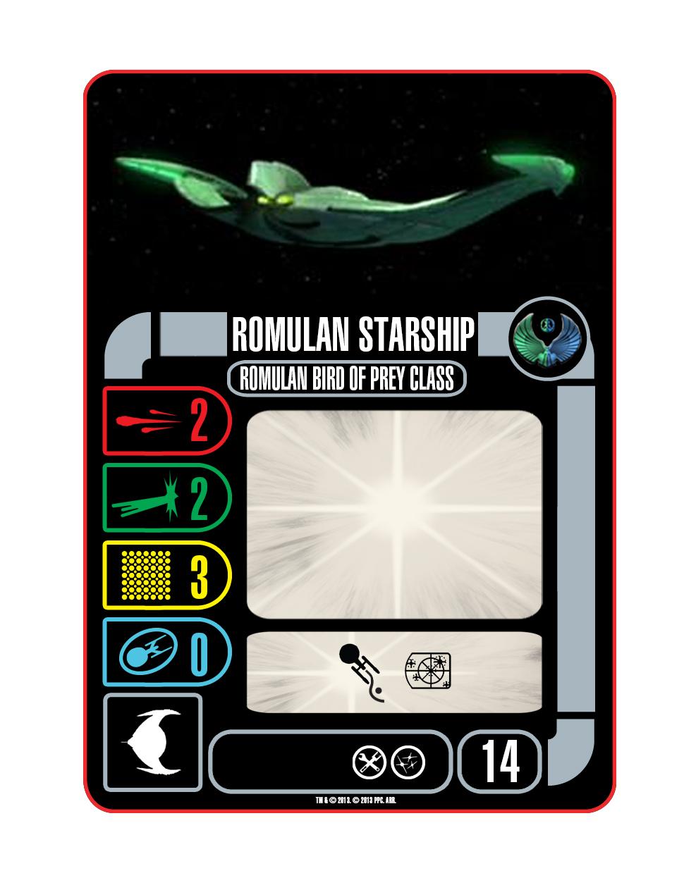 Ship - Romulan Bird of Prey