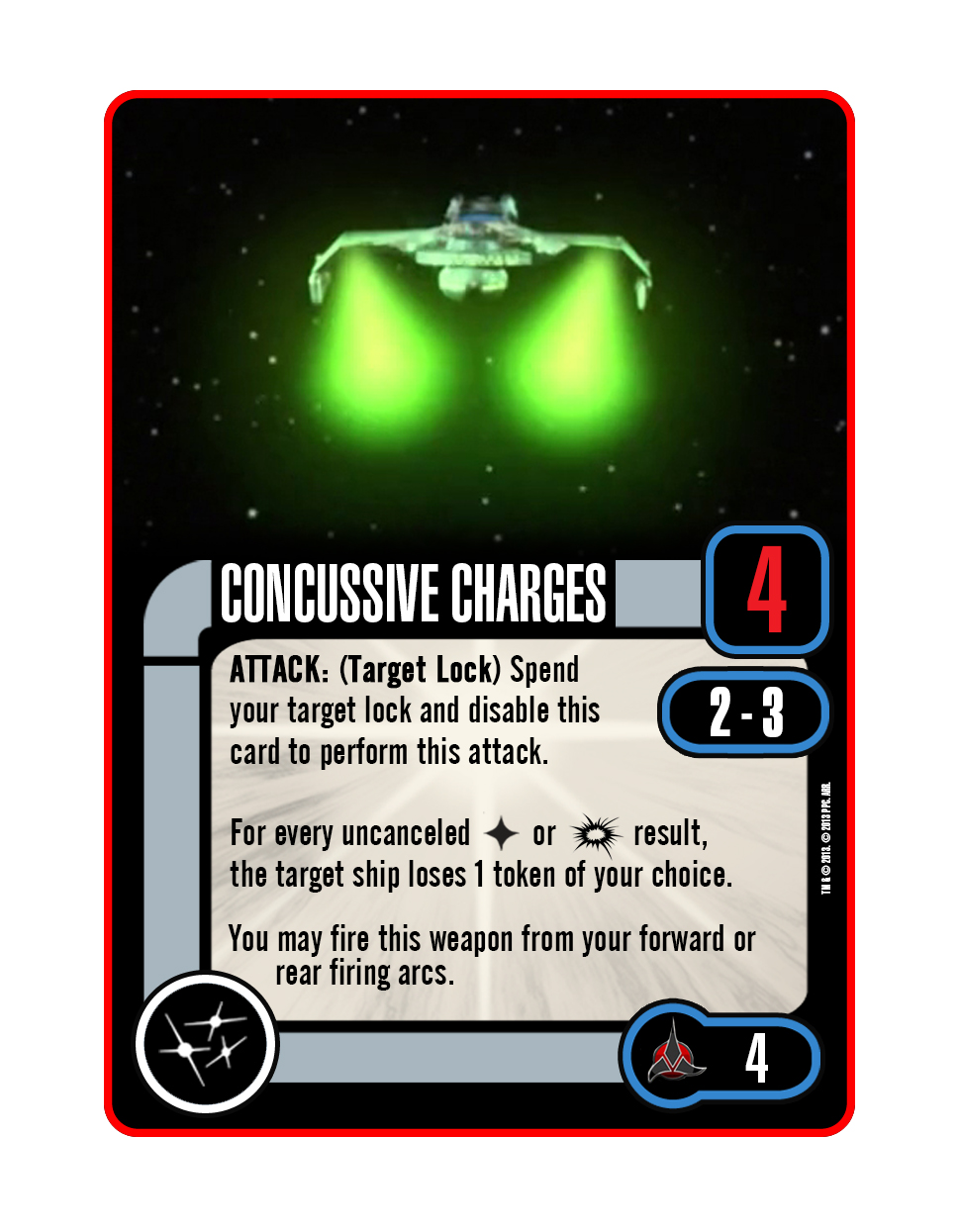 Upgrade - Concussive Charges