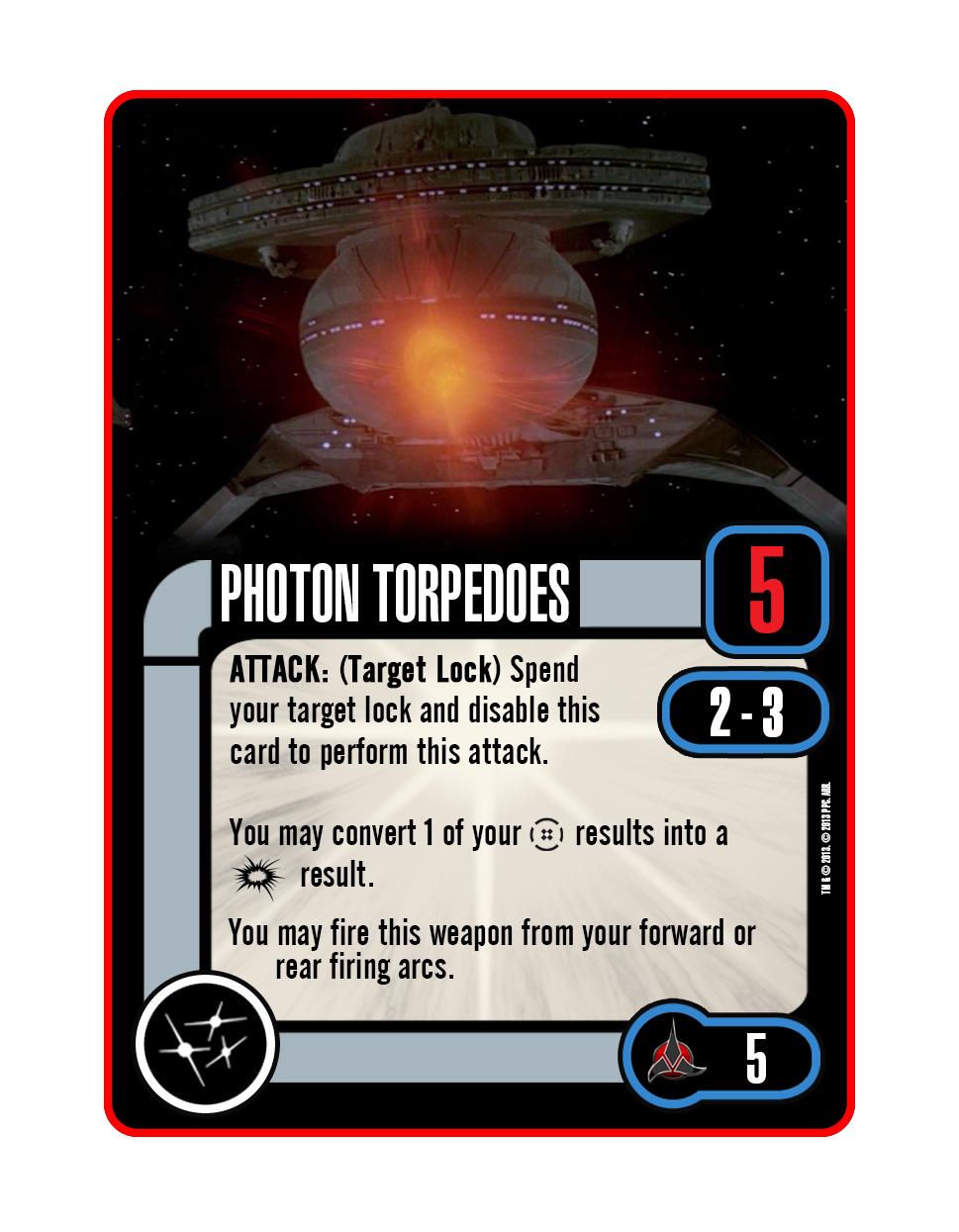Upgrade - Photon Torpedoes