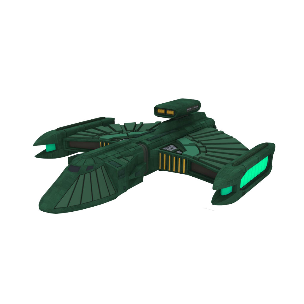 STAW 71274 ROMULAN SCOUT VESSEL Highres