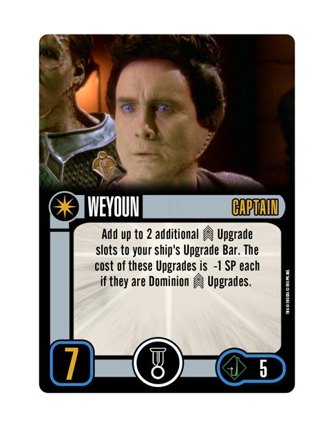 Dominion Captain Weyoun