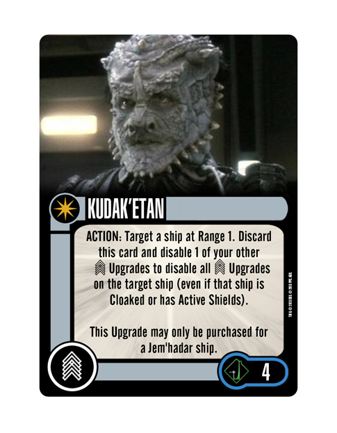 Dominion Upgrade Crew KUDAK'ETAN
