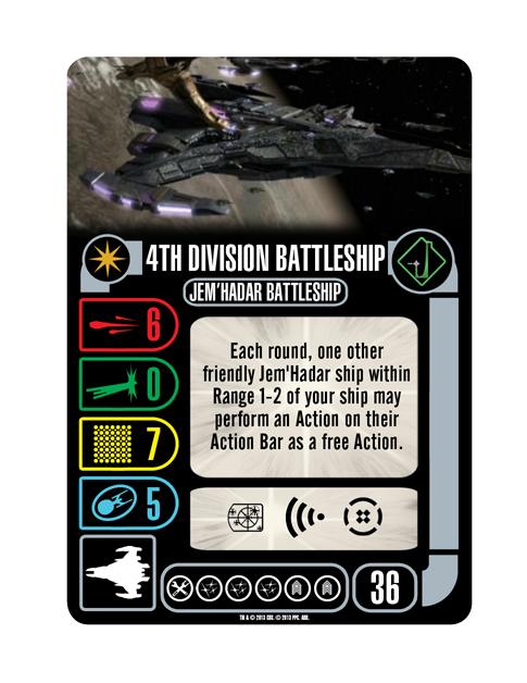 Starship 4th Division Battleship