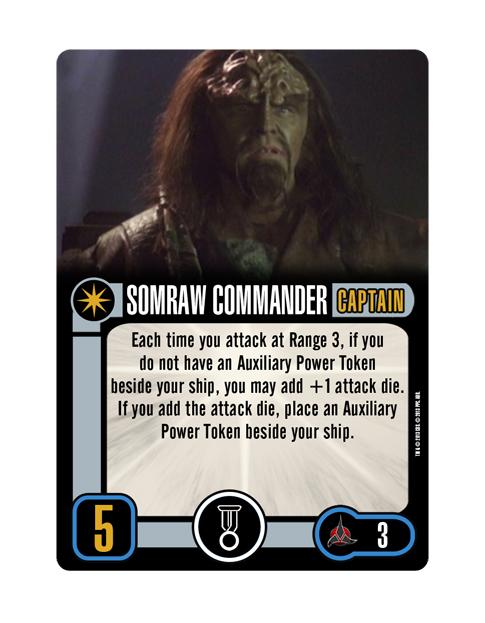 CAPTAIN SOMRAW COMMANDER