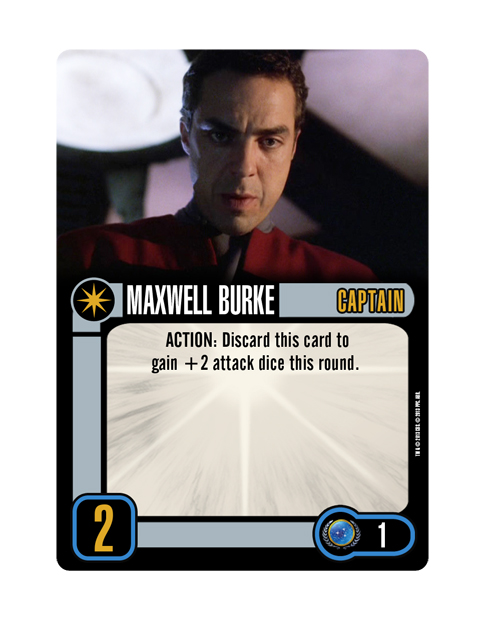 Captain Federation MAXWELL BURKE