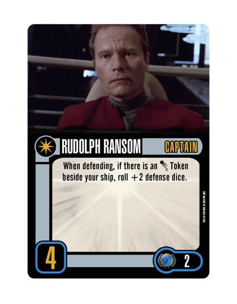 Captain Federation RUDOLPH RANSOM