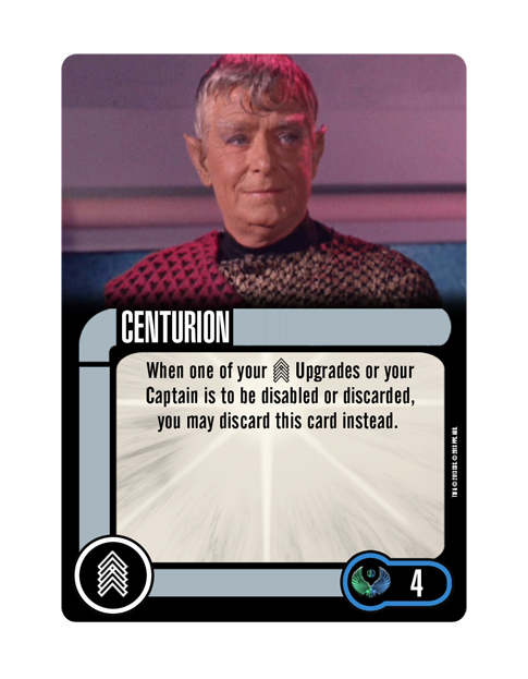 Romulan Upgrade Crew CENTURION