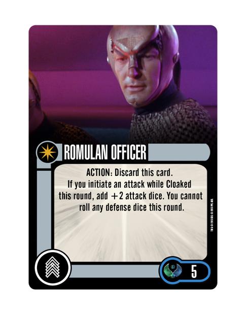 Romulan Upgrade Crew ROMULAN OFFICER