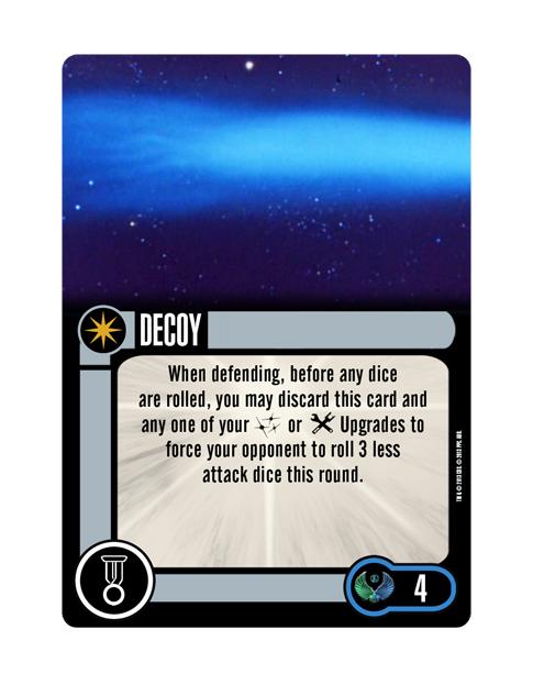 Romulan Upgrade Elite Talent DECOY