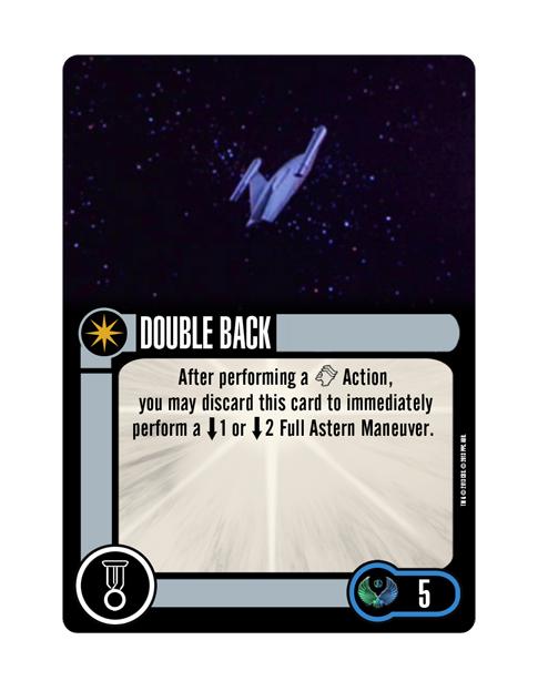Romulan Upgrade Elite Talent DOUBLE BACK