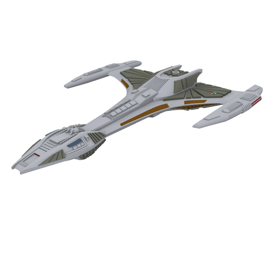 Star Trek Attack Wing: IKS Somraw: Star Trek Attack Wing (Wave 3) (T.O.S.)