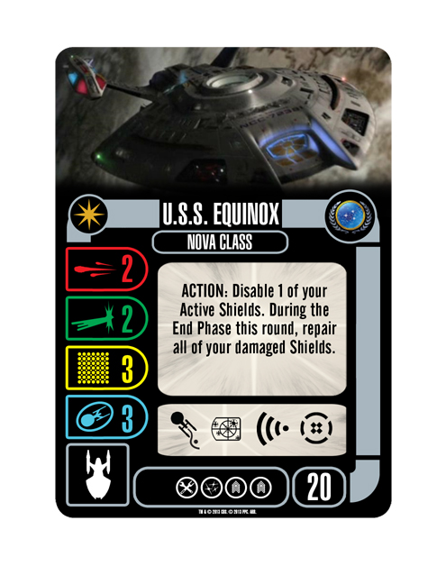 Starship Federation USS EQUINOX