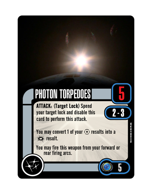 Upgrade Federation PHOTON TORPEDOES
