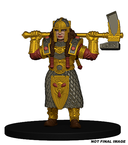 Gold Darf Female Cleric
