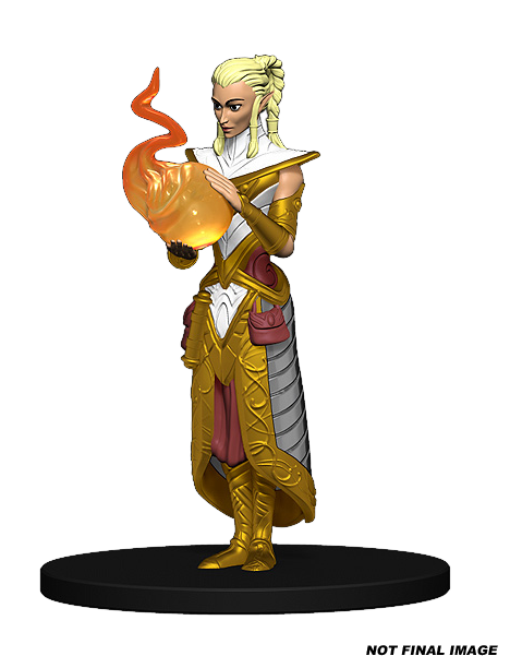 Sun Elf Female Wizard