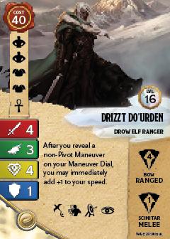 D&DAW DrowElfRanger Cards Creature