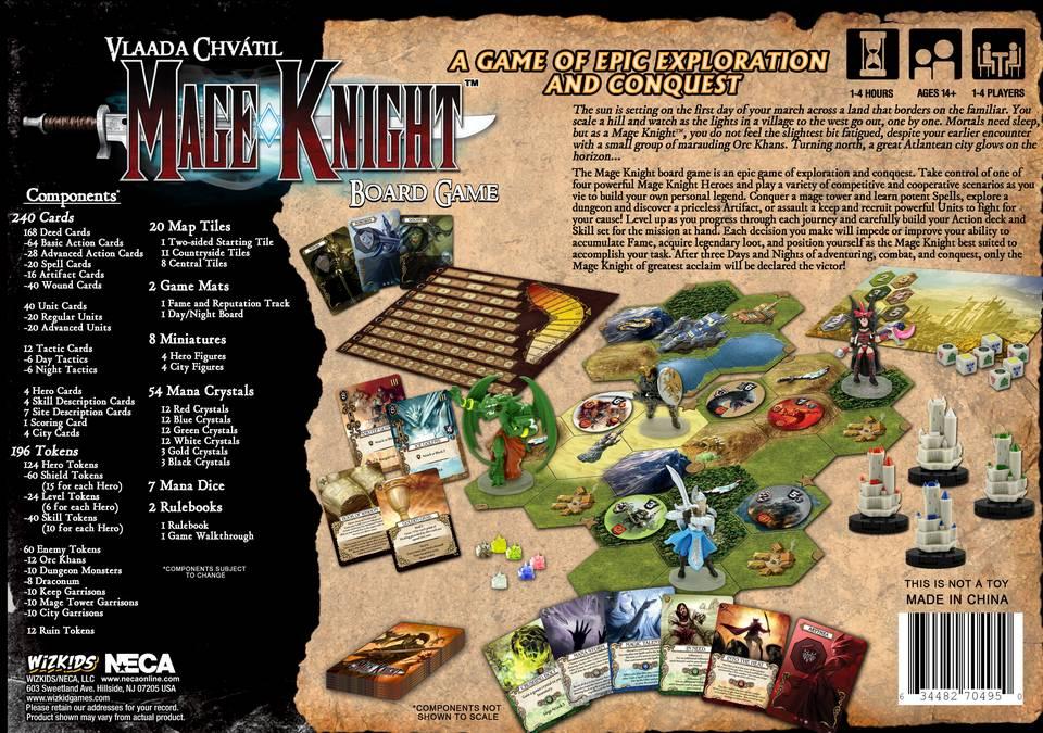 Mage Knight Boardgame -  WizKids