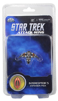 Star Trek Attack Wing: Bajoran Interceptor 5: Star Trek Attack Wing