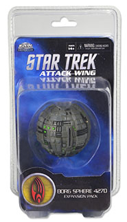 Star Trek Attack Wing: Borg Sphere 4270: Star Trek Attack Wing Wave 4 (T.O.S.)