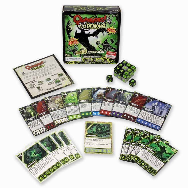 Quarriors: Rise of the Demons Expansion (T.O.S.) -  WizKids